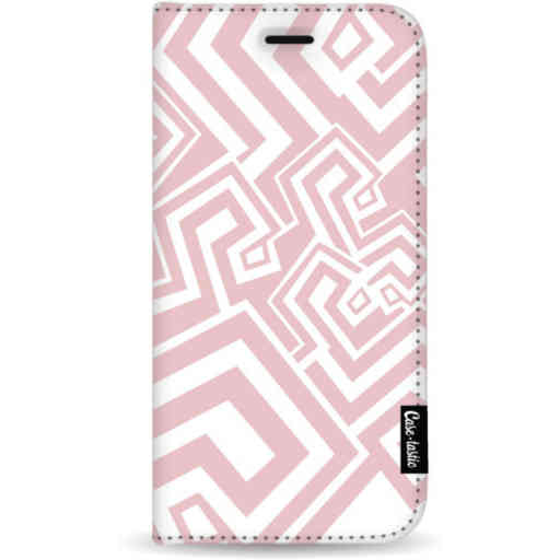 Casetastic Wallet Case White Apple iPhone 11 Pro Max - Abstract Pink Wave