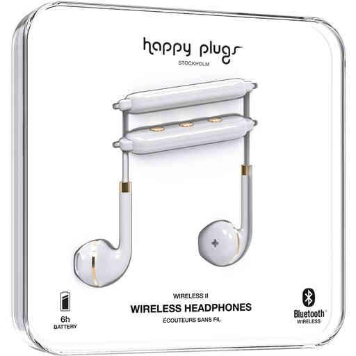 Happy Plugs Wireless II White