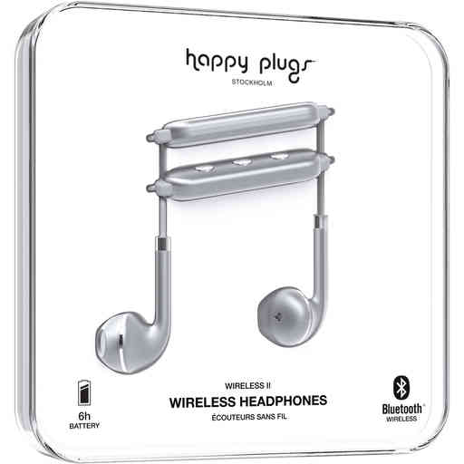 Happy Plugs Wireless II Space Grey