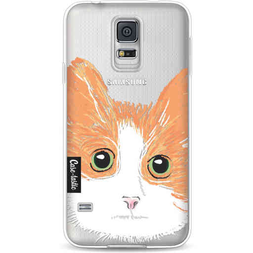 Casetastic Softcover Samsung Galaxy S5  - Little Cat