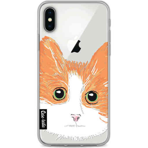 Casetastic Softcover Apple iPhone X / XS - Little Cat