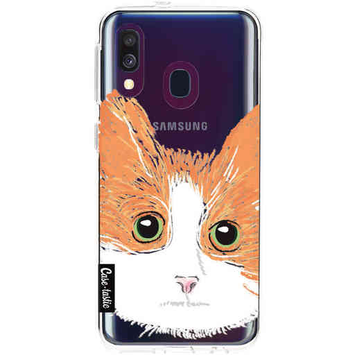 Casetastic Softcover Samsung Galaxy A40 (2019) - Little Cat