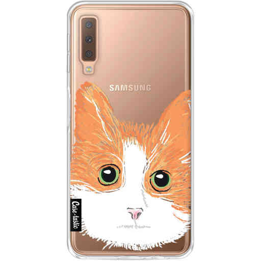 Casetastic Softcover Samsung Galaxy A7 (2018) - Little Cat