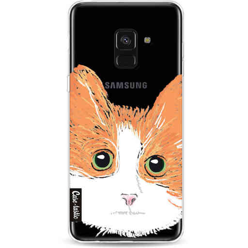 Casetastic Softcover Samsung Galaxy A8 (2018) - Little Cat