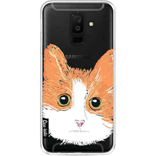 Casetastic Softcover Samsung Galaxy A6 Plus (2018) - Little Cat
