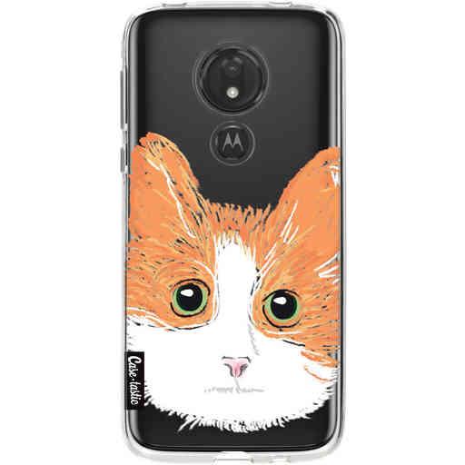 Casetastic Softcover Motorola Moto G7 Power - Little Cat