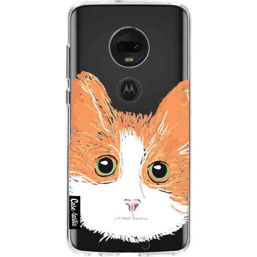 Casetastic Softcover Motorola Moto G7 / G7 Plus - Little Cat