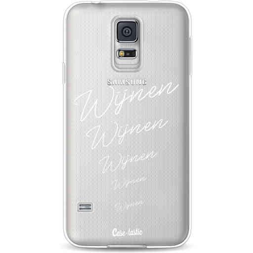 Casetastic Softcover Samsung Galaxy S5  - Wijnen, wijnen, wijnen!