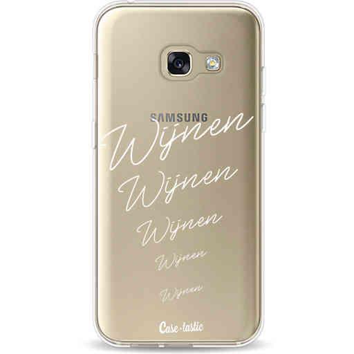 Casetastic Softcover Samsung Galaxy A3 (2017)  - Wijnen, wijnen, wijnen!