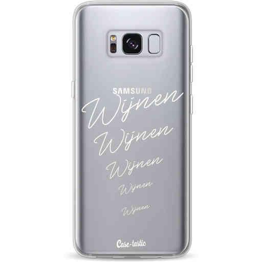 Casetastic Softcover Samsung Galaxy S8 - Wijnen, wijnen, wijnen!