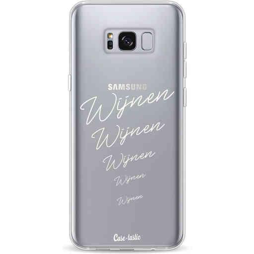 Casetastic Softcover Samsung Galaxy S8 Plus - Wijnen, wijnen, wijnen!
