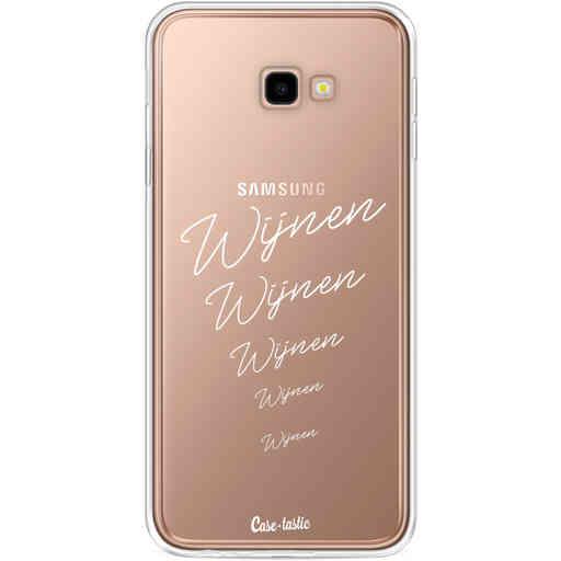 Casetastic Softcover Samsung Galaxy J4 Plus (2018) - Wijnen, wijnen, wijnen!