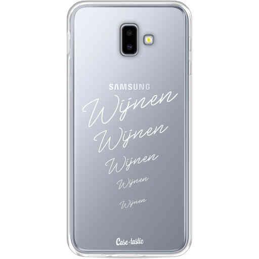 Casetastic Softcover Samsung Galaxy J6 Plus (2018) - Wijnen, wijnen, wijnen!