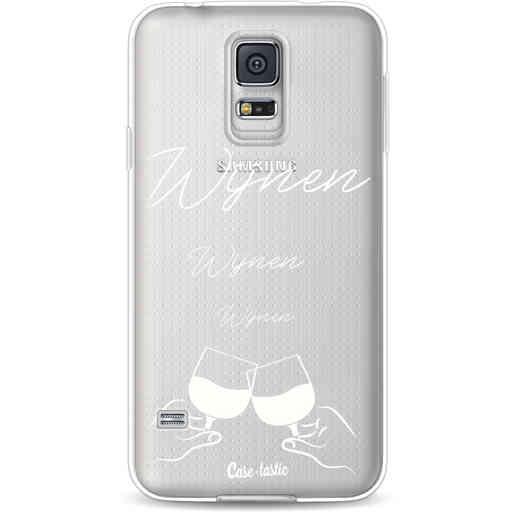 Casetastic Softcover Samsung Galaxy S5  - Wijnen, wijnen, wijnen, cheers
