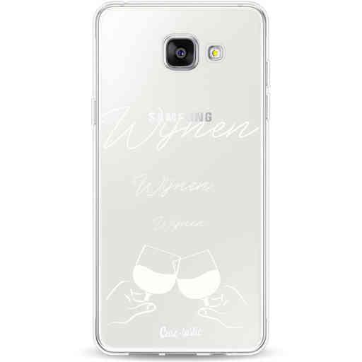 Casetastic Softcover Samsung Galaxy A5 (2016) - Wijnen, wijnen, wijnen, cheers