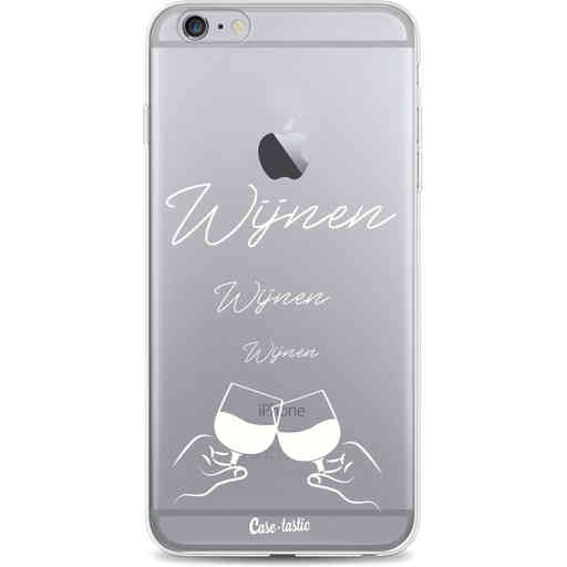Casetastic Softcover Apple iPhone 6 Plus / 6s Plus - Wijnen, wijnen, wijnen, cheers