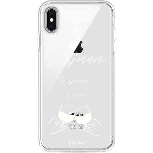 Casetastic Softcover Apple iPhone XS Max - Wijnen, wijnen, wijnen, cheers