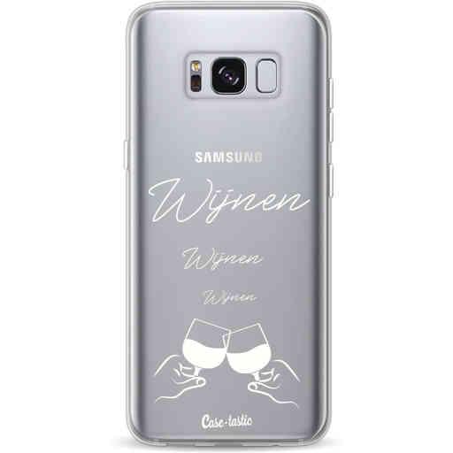 Casetastic Softcover Samsung Galaxy S8 - Wijnen, wijnen, wijnen, cheers