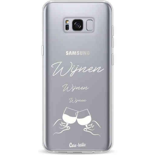 Casetastic Softcover Samsung Galaxy S8 Plus - Wijnen, wijnen, wijnen, cheers
