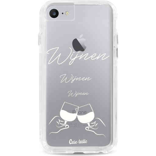 Casetastic Dual Snap Case Apple iPhone 7 / 8 - Wijnen, wijnen, wijnen, cheers