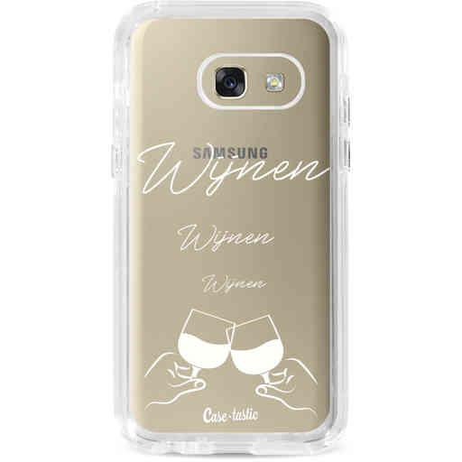 Casetastic Dual Snap Case Samsung Galaxy A3 (2017) - Wijnen, wijnen, wijnen, cheers