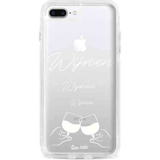 Casetastic Dual Snap Case Apple iPhone 7 Plus / 8 Plus - Wijnen, wijnen, wijnen, cheers