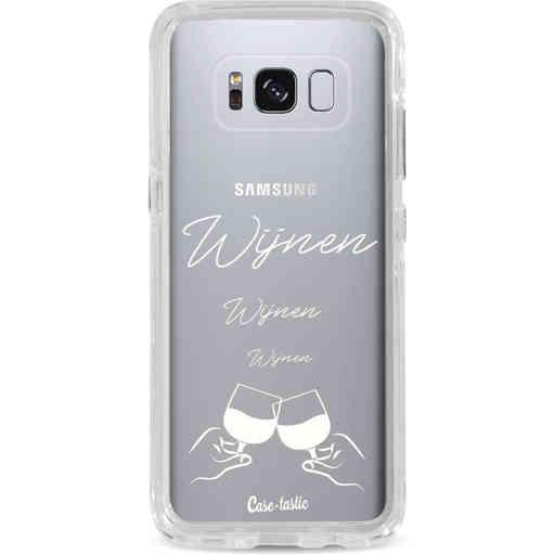 Casetastic Dual Snap Case Samsung Galaxy S8 - Wijnen, wijnen, wijnen, cheers