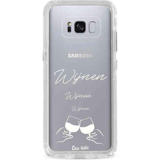 Casetastic Dual Snap Case Samsung Galaxy S8 Plus - Wijnen, wijnen, wijnen, cheers