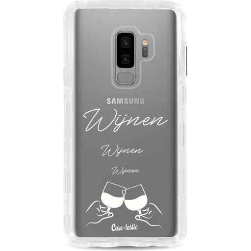 Casetastic Dual Snap Case Samsung Galaxy S9 Plus - Wijnen, wijnen, wijnen, cheers
