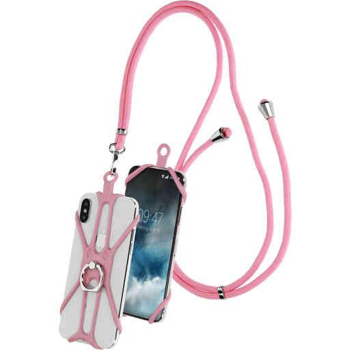 Casetastic Universal Phonestrap Pink