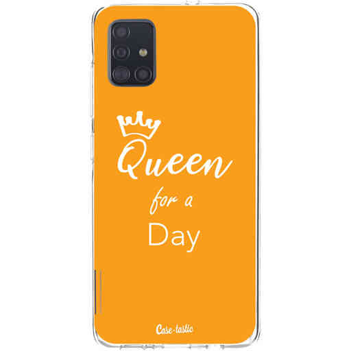 Casetastic Softcover Samsung Galaxy A51 (2020) - Queen for a Day