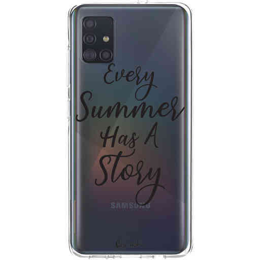 Casetastic Softcover Samsung Galaxy A51 (2020) - Summer Story