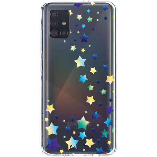 Casetastic Softcover Samsung Galaxy A51 (2020) - Funky Stars