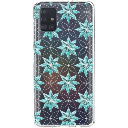 Casetastic Softcover Samsung Galaxy A51 (2020) - Statement Flowers Blue