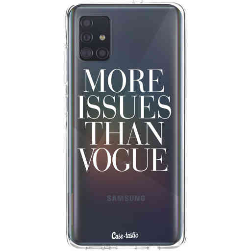 Casetastic Softcover Samsung Galaxy A51 (2020) - More issues than Vogue