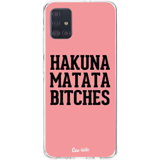 Casetastic Softcover Samsung Galaxy A51 (2020) - Hakuna Matata Bitches