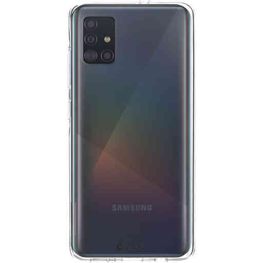 Casetastic Softcover Samsung Galaxy A51 (2020) - Transparant
