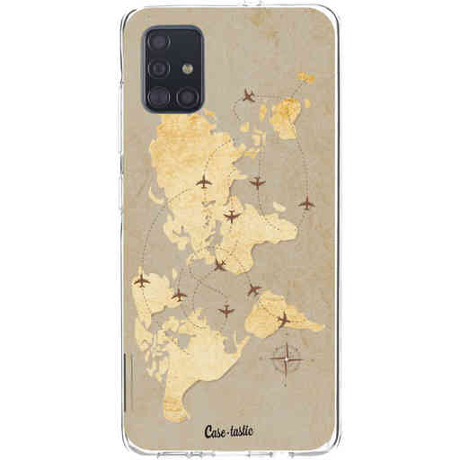 Casetastic Softcover Samsung Galaxy A51 (2020) - World Traveler