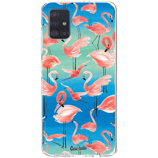 Casetastic Softcover Samsung Galaxy A51 (2020) - Flamingo Vibe