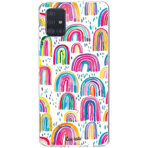 Casetastic Softcover Samsung Galaxy A51 (2020) - Sweet Candy Rainbows