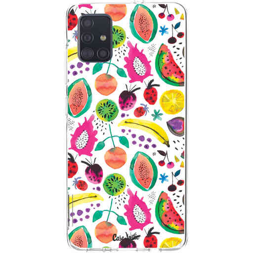 Casetastic Softcover Samsung Galaxy A51 (2020) - Tropical Fruits