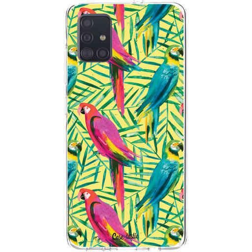 Casetastic Softcover Samsung Galaxy A51 (2020) - Tropical Parrots