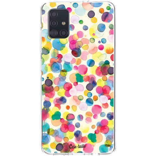 Casetastic Softcover Samsung Galaxy A51 (2020) - Watercolor Confetti