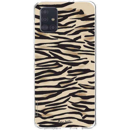 Casetastic Softcover Samsung Galaxy A51 (2020) - Savannah Zebra