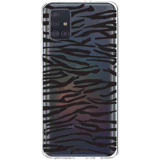 Casetastic Softcover Samsung Galaxy A51 (2020) - Zebra