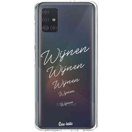 Casetastic Softcover Samsung Galaxy A51 (2020) - Wijnen, wijnen, wijnen!