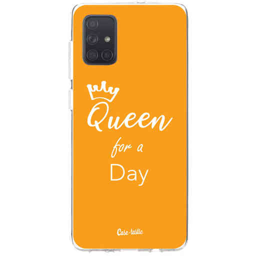Casetastic Softcover Samsung Galaxy A71 (2020) - Queen for a Day