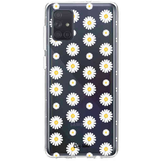 Casetastic Softcover Samsung Galaxy A71 (2020) - Daisies