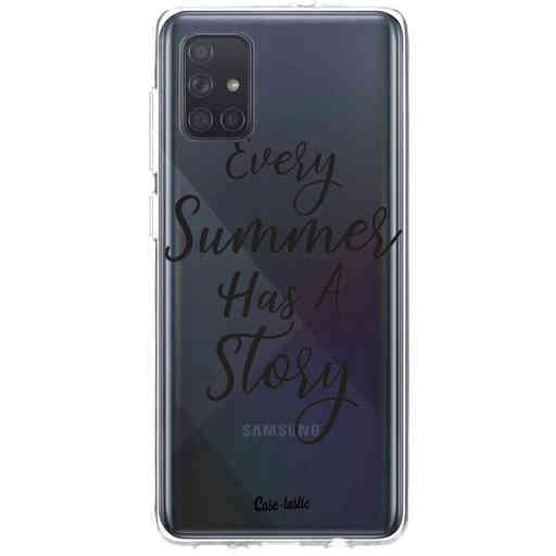 Casetastic Softcover Samsung Galaxy A71 (2020) - Summer Story