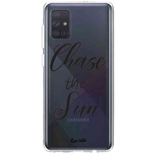Casetastic Softcover Samsung Galaxy A71 (2020) - Chase The Sun